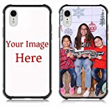 Custom Phone Case for iPhone Xr, Personalized Custom Picture Phone Case -Customizable Slim Soft and Hard tire Shockproof Protective Anti-Scratch Phone Cover Case- Make Your Own Phone Case