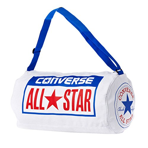 Converse Legacy All Star borsa da viaggio tela zaino a tracolla - Bianco