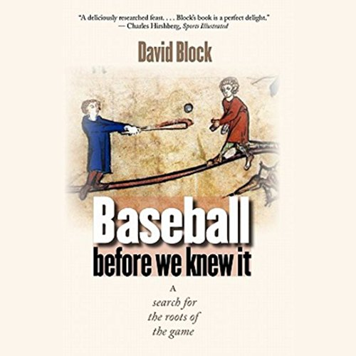 Baseball before We Knew It audiobook cover art