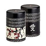 Lot de 2 Boites à thé 'Kyoto' de Eigenart - 125g