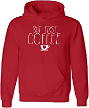 But First Coffee Unisex Hoodie Coffee Lovers Heart Sign on Coffee Cup