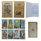 Tarot Cards - 78Pcs/Set - Original Design by Pamela Colman with 100 Page