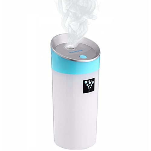 USB Mini MistAire Ultrasonic Cool Mist Humidifier,Quiet Operation Automatic Shut-off For Car Home Bedroom Office Kids and Baby Nursery Lemon Humidifier Green Color ACEPOWER