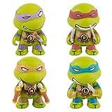 4PZA Tortugas Ninja Q Versión Animado Vinilo Figura estrenar