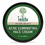 Best Acne Creams - TreeActiv Acne Eliminating Face Cream, Tea Tree Natural Review