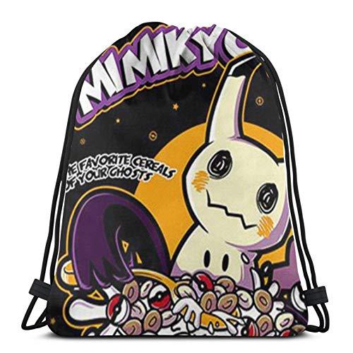 Bolsas con cordón Mi-Ik-Yu Mimi-Kyo'S Unisex con cordón Bapa Bolsa de deporte Bolsa de cuerda Bolsa grande con cordón Bolsa de Gimnasio Bapa a granel