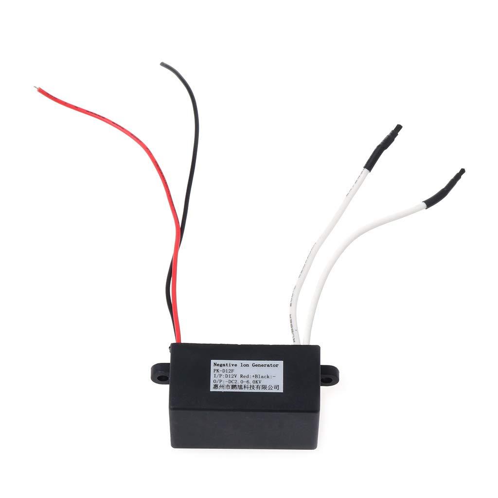 A0127 - Generador de iones negativos purificador de aire ionizador ...