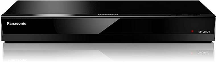 Panasonic 4K Ultra HD Blu-ray Player with HDR10, HDR10+ and Hybrid Log-Gamma (HLG) Playback, Hi-Res Sound, 4K VOD Streamin...