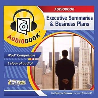 Business Plans & Executive Summaries audiobook cover art