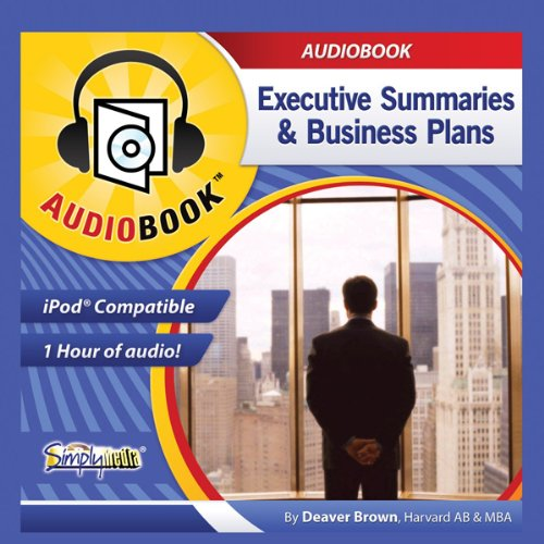 Business Plans & Executive Summaries cover art