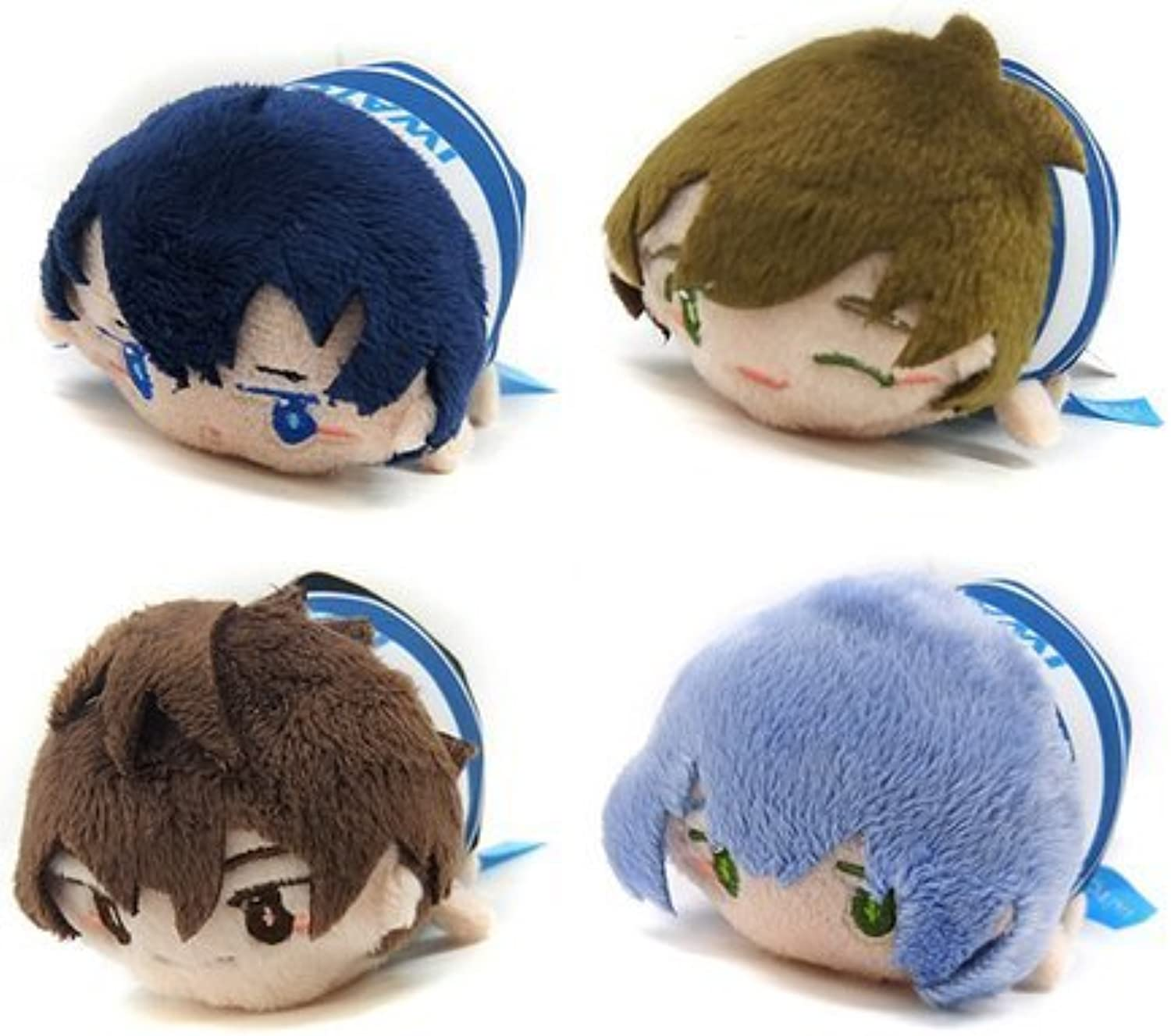 High  speed  Free  Starting Days soft mascot vol.2 all four set