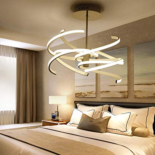 66W LED plafondlamp Moderne elegante slaapkamer plafondlamp woonkamer eetkamer werkkamer bruiloftskamer studie plafondverlichting aluminium ijzeren plafondlamp Oslash; 47cm Mute White-High Light