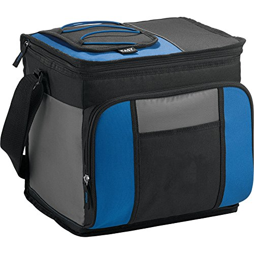 California Innovations 24 Can Easy-Access Collapsible Cooler Bag, Royal