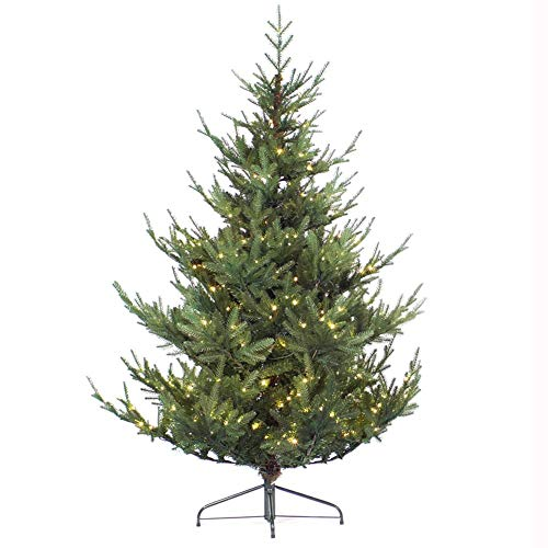 SAFGH Árbol de Navidad Artificial de Abeto denso con Soporte de Metal,...