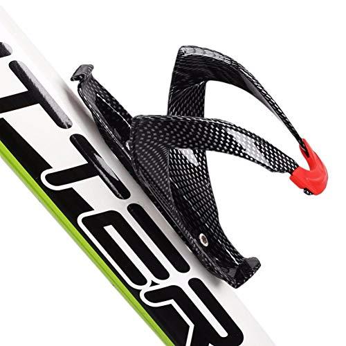 Portabidones Lateral Fibra De Carbono Ultraligera Portabidones para Bicicletas Aluminio A Prueba De Choques Botella Bicicleta MontañA For Bicicleta MTB