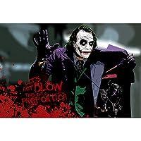 ジョーカー(The Joker)ジグソーパズル、木質素材、思考力を行使する、教育玩具、無毒で安全、14歳以上に適しています、1000ピース、70 * 50CM