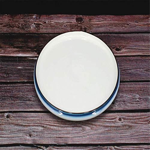 liumengjie Disc Hotel Restaurant, Küchenarbeitsplatte, Geschirr, Keramik Geschirr, Neue Knochenplatte, Teller, Obstteller, 12 Zoll, 29,5 * 3 cm
