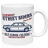 Morris 1100 1962 legendary street riders 11oz Taza de café de cerámica de alta calidad