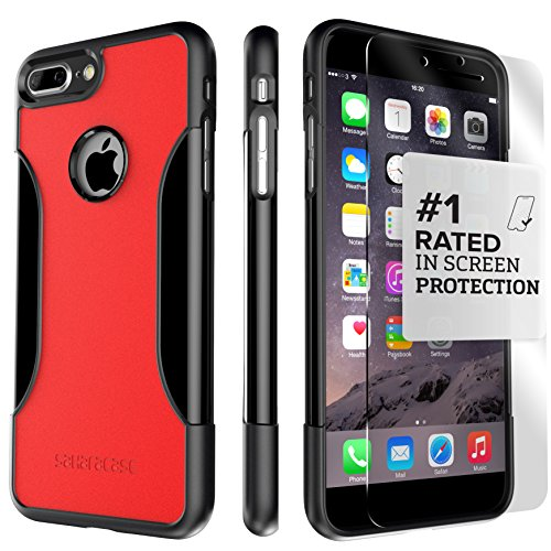 iPhone 8 Plus and 7 Plus Case, SaharaCase Protective Kit Bundled with [ZeroDamage Tempered Glass Scr - http://coolthings.us