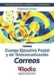 Cuerpo Ejecutivo Postal y de Telecomunicación. Temario. Promoción Interna: Sociedad Estatal Correos y Telégrafos