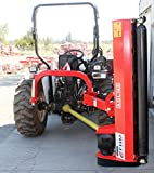 """Farmer Helper 57"""" Ditch Bank Flail Mower Cat.I3pt 40hp~65hp (FH-AGL145) w/Hammer Blades Requires a Tractor. Not a standalone Unit."""