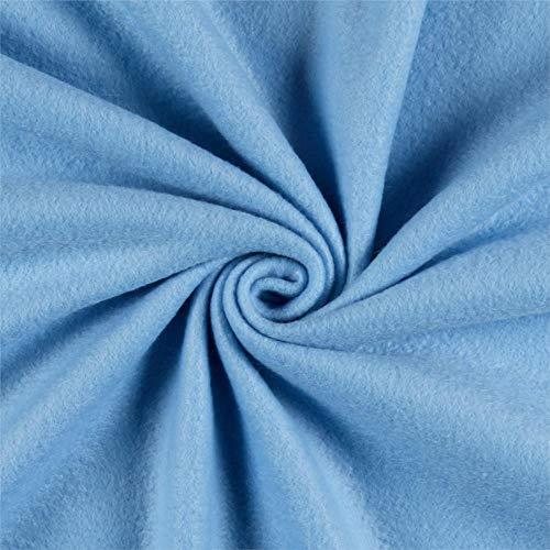 Newcastle Fabrics Polar Fleece Solid Sky Blue Fabric By The Yard