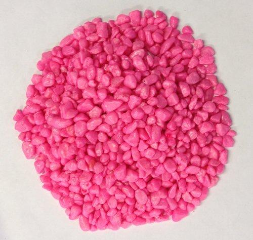 Bright Hot Pink glazed Pea decorativo ghiaia Fish & Plant friendly