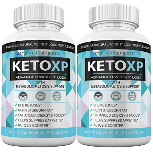 (2Pack) Keto XP Pills Advanced Weight Diet Management Keto XP Max Tablets Capsules 800 mg Pure Keto Fast Supplement for Energy, Focus - Exogenous Ketones for Men Women 1