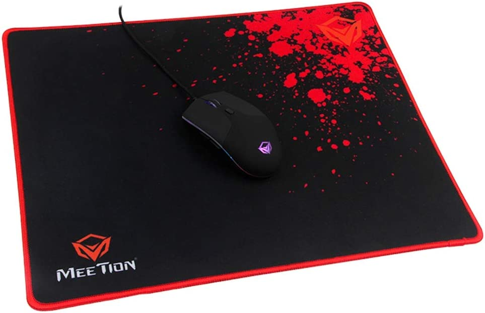 100% quality warranty MEETiON P110 Non-Slip Gaming Mouse Optimized Pad Cloth El Paso Mall Surface
