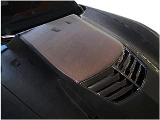 2014 2015 2016 Corvette Stingray C7 Carbon Fiber Stinger Hood Decals Stripes