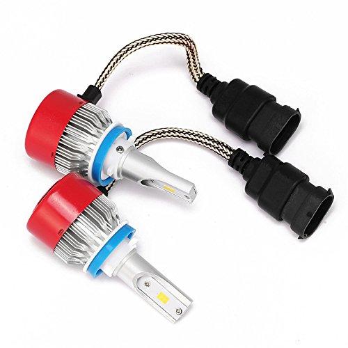 ZGMA H8/H11/H9 Automatique Ampoules électriques LED Intégrée 3600lm LED Lampe Frontale H11 H8 H9