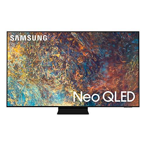 Samsung Neo QLED 4K 2021 50QN90A - Smart TV de 50' con Resolución 4K UHD, Quantum Matrix Technology, Procesador Neo QLED 4K con Inteligencia Artificial, Quantum HDR 2000, OTS+ y Alexa Integrada