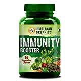 Himalayan Organics Organic Immunity Booster with Vitamin C | Whole Food & Natural | 60 Vegetarian Capsules