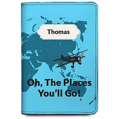 Personalized RFID Passport Holder Cover - Travel Wallet - Children Collection