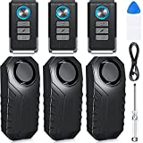 Best Bike Alarms - 6 Pieces Bicycle Alarm Anti Theft, Wireless Vibration Review