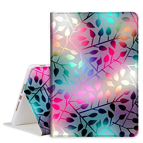 TOMYOU iPad 10.2 Case 2020 iPad 8th Generation Case / 2019 iPad 7th Generation Case, Slim Stand Soft Back Shell Protective Smart Cover for 10.2' iPad 8 / iPad 7 - Frosted Glass
