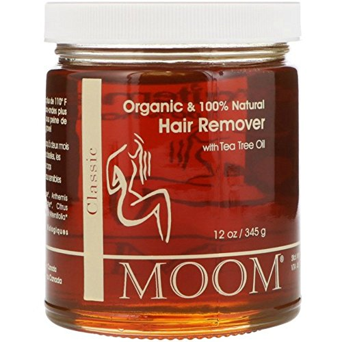 Moom Organic Hair Removal with Tea Tree Refill Jar  12 oz Pack of 1
