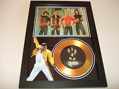 Goldene Schallplatte mit Queen-Unterschrift