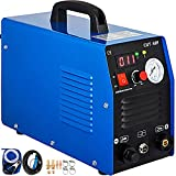 VEVOR Plasma Cutting Machine 220V Air Plasma Cutter CUT-50 Plasma Cutting Station 12mm Cutting Efficient Cooling for Cutting Stainless Steel, Alloy Steel, Mild Steel, Copper Aluminum