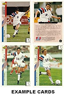 Upper Deck 1994 World Cup USA Women's Soccer Card Set. 11 Rookie Cards Incl. Mia Hamm, Julie Foudy, Kristine Lilly ++