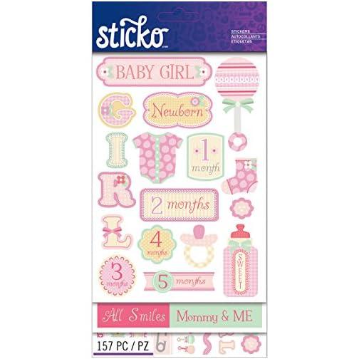 Sticko Flip Pack, Baby Girl |