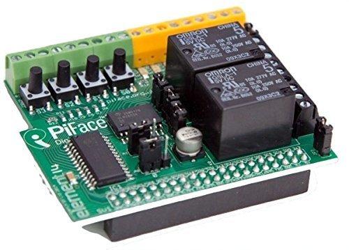 PiFace DIGITAL 2 - Relays, Switches, Digital/Analog I/O