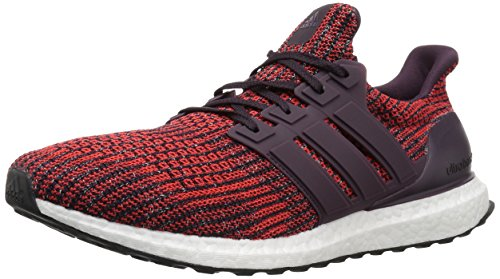 adidas Men's Ultraboost Road Running Shoe, Noble Red/Noble Red/Core Black, 10 M US