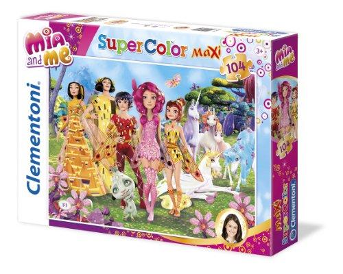Clementoni 23660 - Maxi Puzzle Mia and Me, 104 Teile
