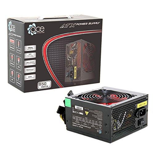 ACE A-850BR - Fuente de alimentación, Color Negro