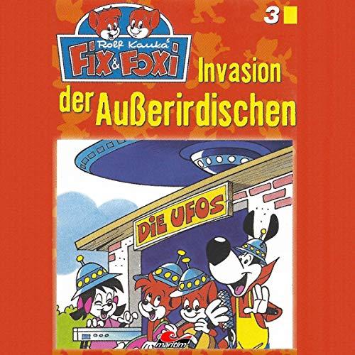 Page de couverture de Invasion der Außerirdischen