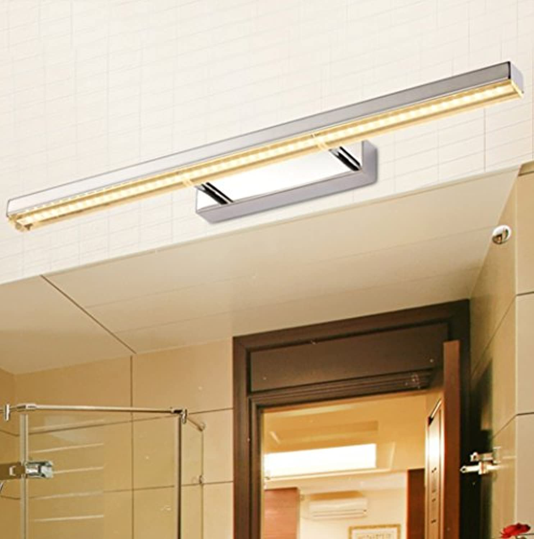 LED-Spiegel-Frontseiten-Lampen-Badezimmer-Badezimmer-Wand-Lampen-Toiletten-Verfassungs-Spiegel-Schrank-Ankleiden-Spiegel-Lampe ( farbe   Warmwei )