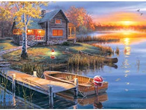 Autumn at the Lake Jigsaw Puzzle 1000 Piece