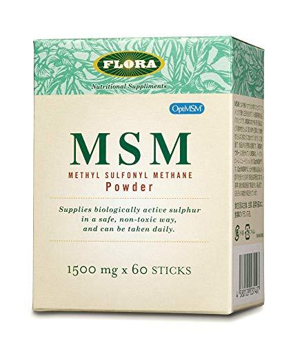 フローラ ハウス MSMパウダー メチル スルフォニル メタン 60包+12包