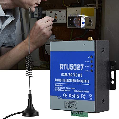 Monitoreo Gsm, Lectura Remota de Datos Históricos Alerta Gsm Encendido/Apagado Ac, Con Batería de Respaldo Recargable para Monitoreo de la Temperatura(European standard (100-240v), Transl)